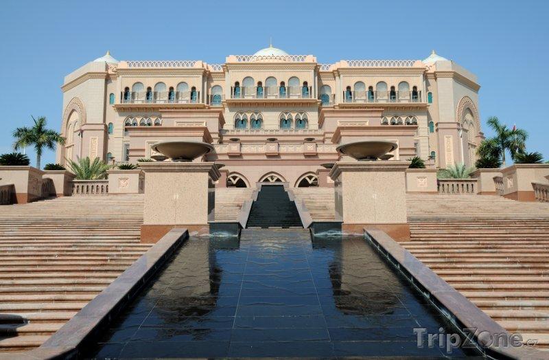 Fotka, Foto Abu Dhabi, hotel Emirates Palace (Spojené arabské emiráty)
