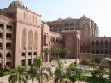 Abu Dhabi - hotelový komplex Emirates Palace