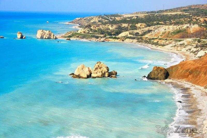 Fotka, Foto Afroditina skála v moři (Kypr)