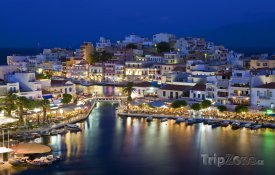 Agios Nikolaos v noci