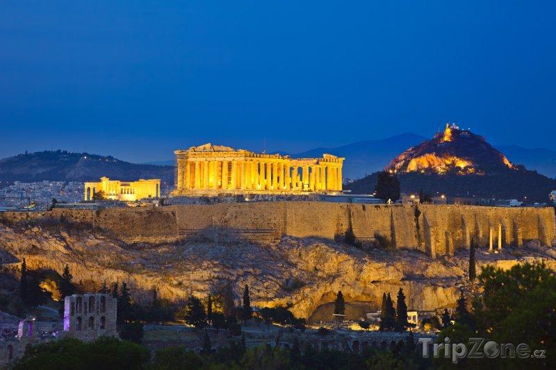 Fotka, Foto Akropole (Athény, Řecko)