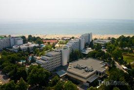 Albena, hotely a pláž