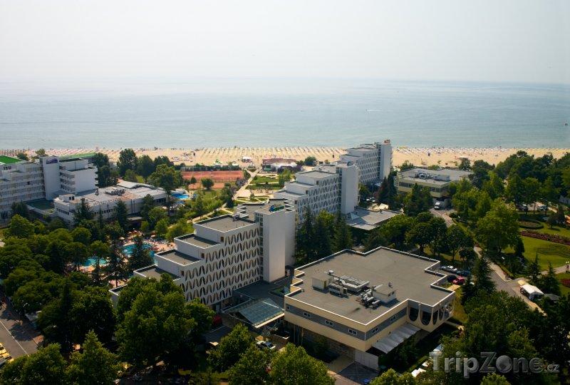 Fotka, Foto Albena, hotely a pláž (Severní pobřeží, Bulharsko)