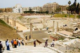 Alexandrie, antické divadlo