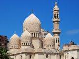 Alexandrie, mešita El-Mursi Abul Abbas