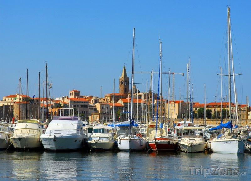 Fotka, Foto Alghero, přístav (Sardinie, Itálie)