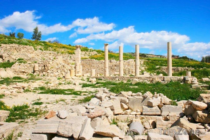 Fotka, Foto Amathus, Apollonův chrám (Kypr)