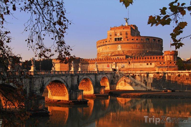 Fotka, Foto Andělský hrad (Castel Sant'Angelo) (Řím, Itálie)
