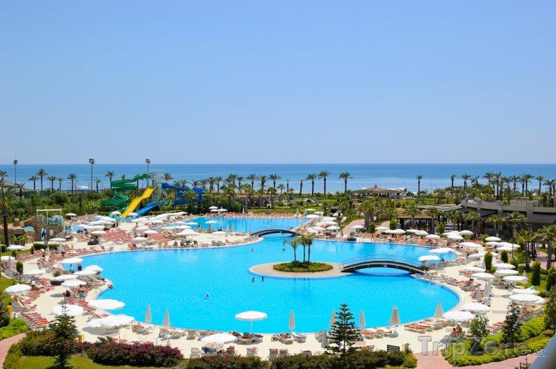 Fotka, Foto Antalya, bazén u hotelu (Turecká riviéra, Turecko)