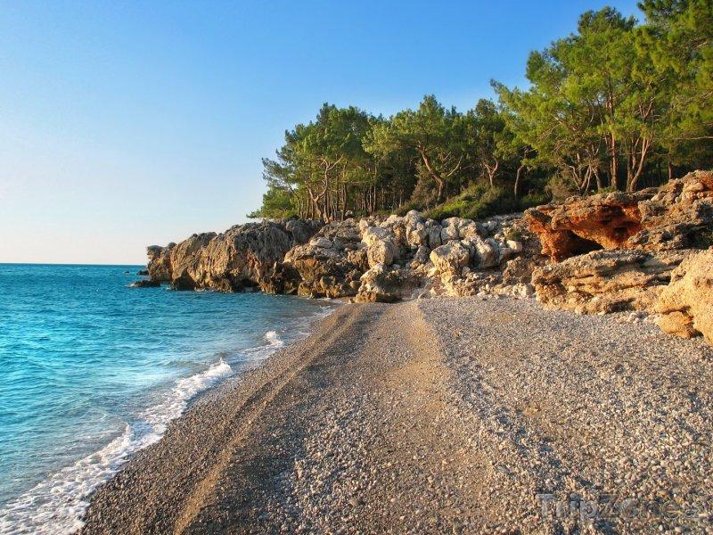 Fotka, Foto Antalya, pláž (Turecká riviéra, Turecko)