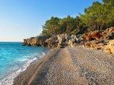 Antalya, pláž