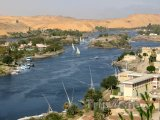 Asuán, pohled na Nil