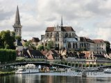 Auxerre, opatství Saint-Germain
