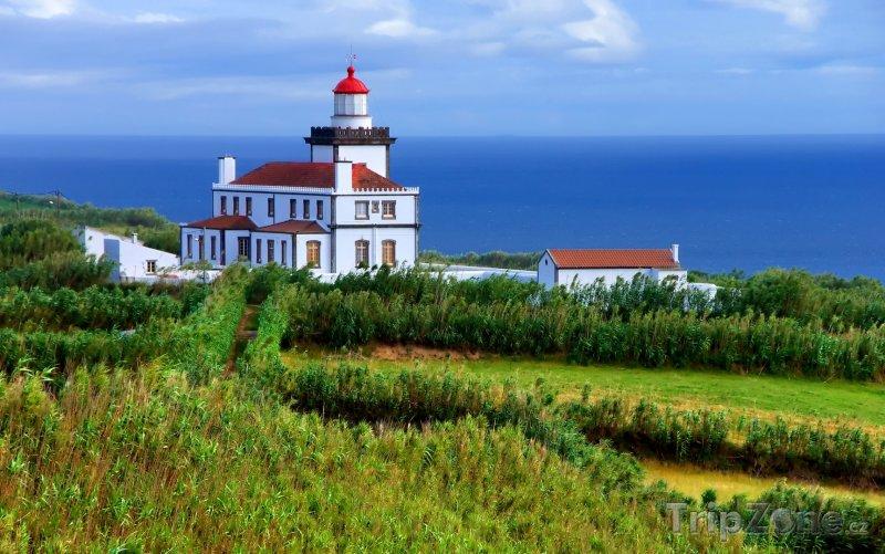 Fotka, Foto Azory, maják (Portugalsko)