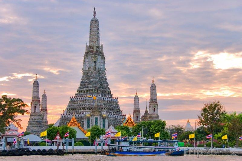 Fotka, Foto Bangkok, chrám Wat Arun (Thajsko)