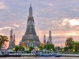 Bangkok, chrám Wat Arun