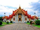 Bangkok, chrám Wat Benchamabophit