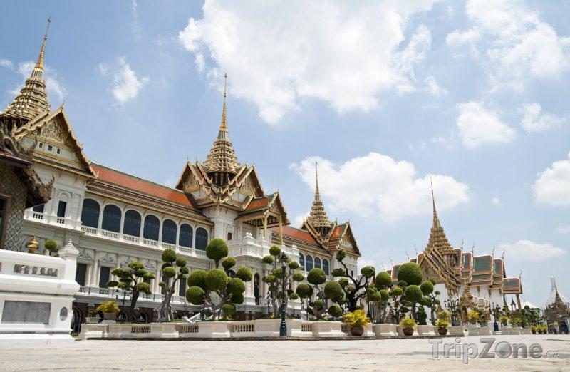 Fotka, Foto Bangkok, Phra Borom Maha Ratcha Wang (The Grand Palace) (Thajsko)