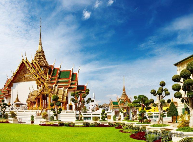 Fotka, Foto Bangkok - Phra Borom Maha Ratcha Wang (Thajsko)