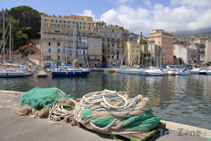 Fotka, Foto Bastia, přístav (Korsika, Francie)
