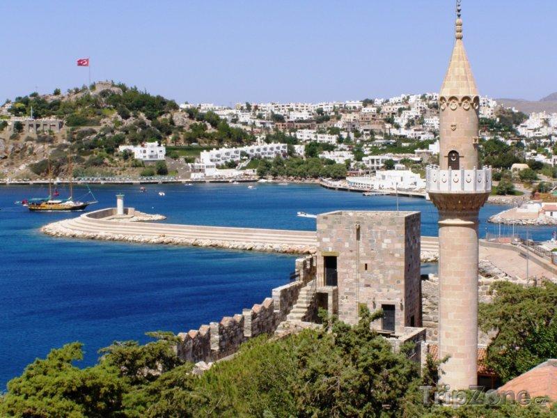 Fotka, Foto Bodrum, přístav (Egejská riviéra, Turecko)