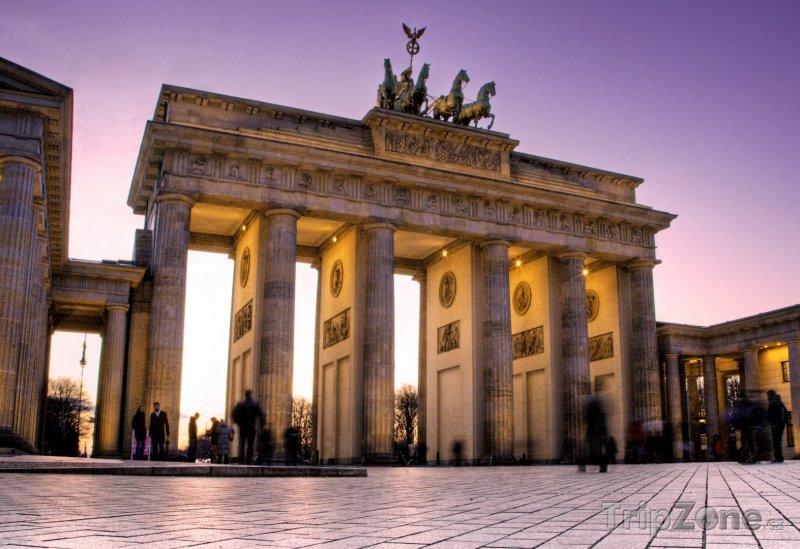 Fotka, Foto Braniborská brána (Brandenburger Tor) - Berlín (Berlín, Německo)