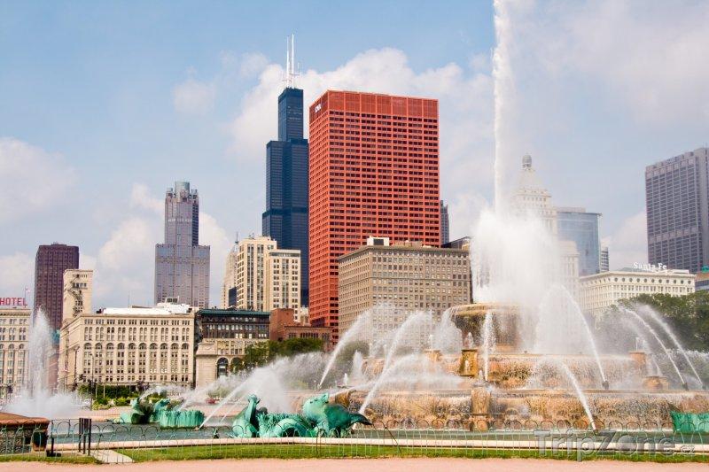 Fotka, Foto Buckingham Fountain (Chicago, USA)