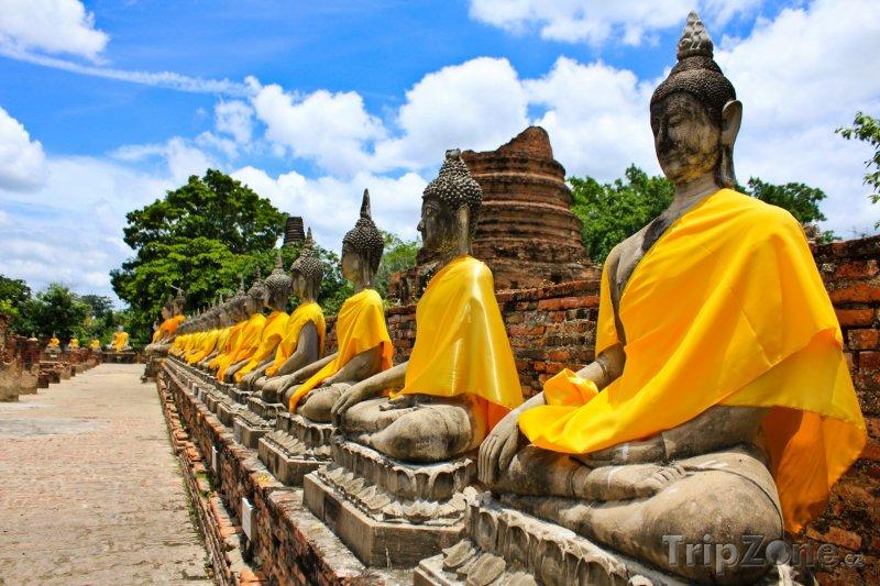 Fotka, Foto Buddhovy sochy (Thajsko)