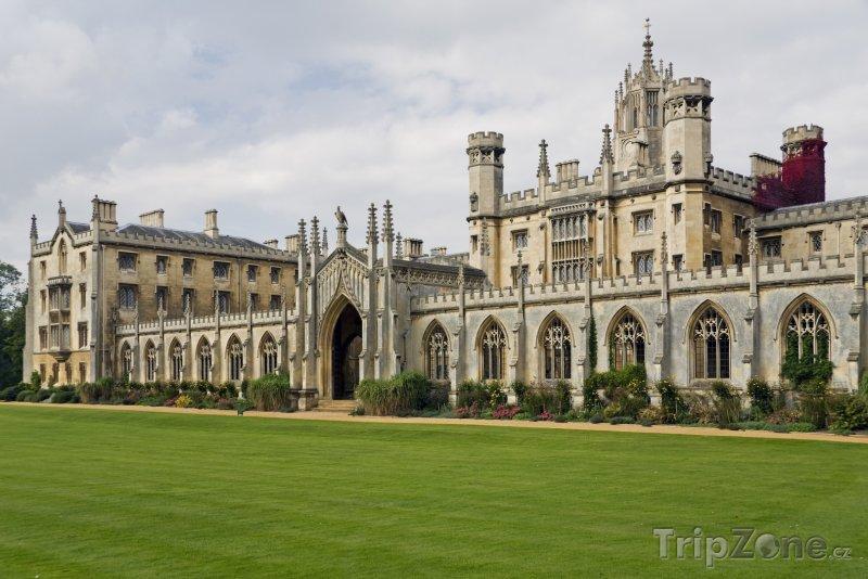 Fotka, Foto Cambridge, St John's College (Velká Británie)