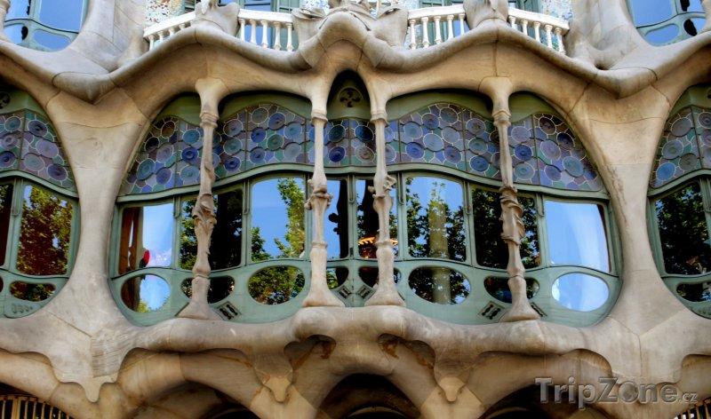 Fotka, Foto Casa Batlló (Barcelona, Španělsko)