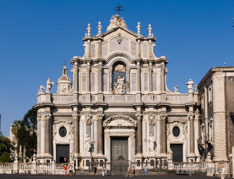 Fotka, Foto Catania, katedrála sv. Agáty (Sicílie, Itálie)