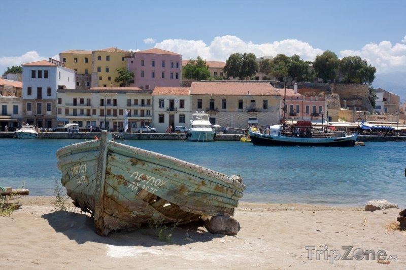 Fotka, Foto Chania, přístav (Kréta, Řecko)
