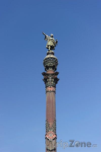Fotka, Foto Columbus Monument (Barcelona, Španělsko)