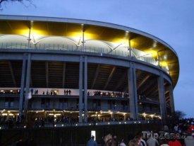 Commerzbank-Arena (Waldstadion) zvenku