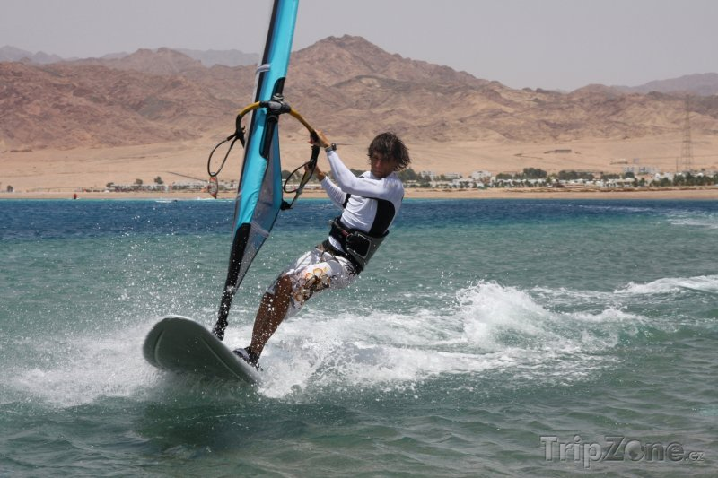 Fotka, Foto Dahab, surfař (Sinaj, Egypt)