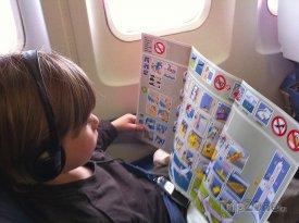 Dítě na palubě letadla