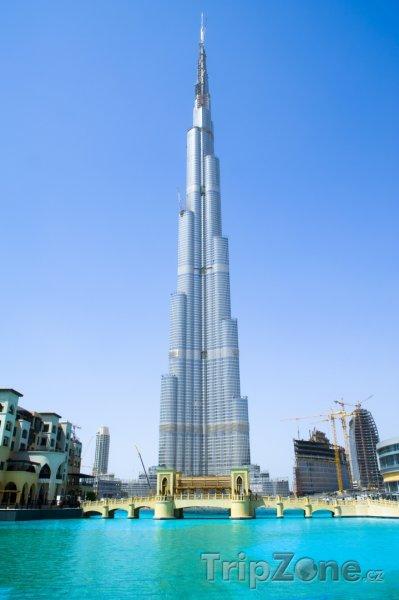 Fotka, Foto Dubaj, Burj Khalifa (Burj Dubai) - nejvyšší mrakodrap světa (Spojené arabské emiráty)