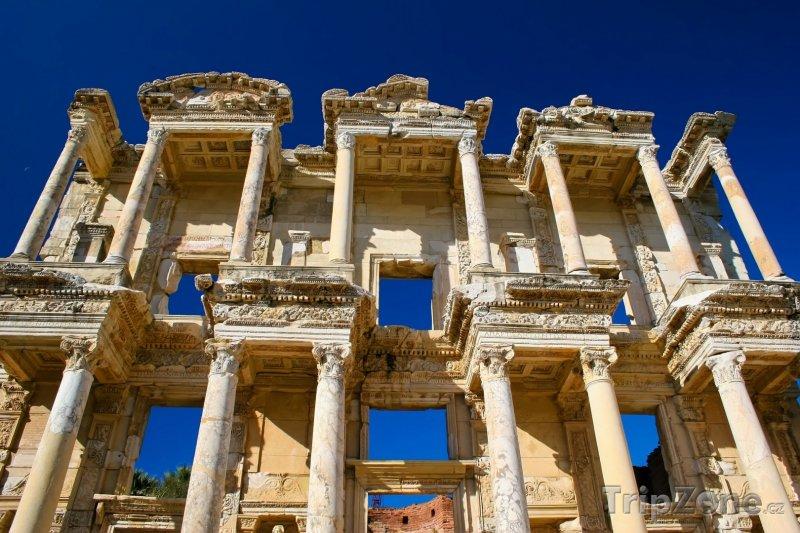 Fotka, Foto Efesos, knihovna (Egejská riviéra, Turecko)