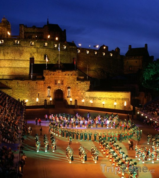 Fotka, Foto Festival Royal Edinburgh Military Tattoo (Edinburgh, Velká Británie)