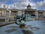 Fontána na Trafalgar Square