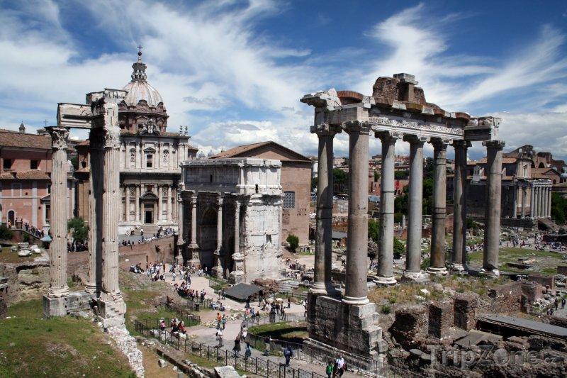 Fotka, Foto Forum Romanum (Řím, Itálie)
