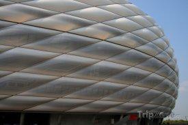 Fotbalový stadion Allianz Arena v Mnichově