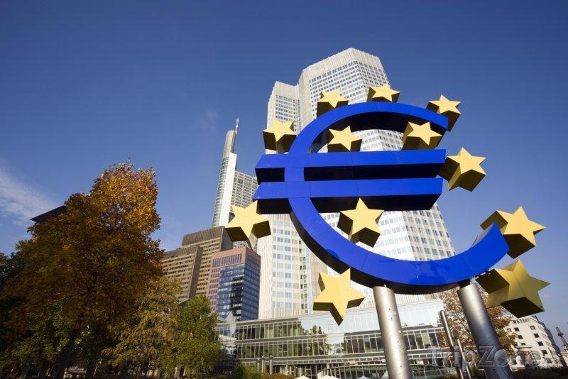 Fotka, Foto Frankfurt - sídlo Evropské centrální banky (Frankfurt, Německo)