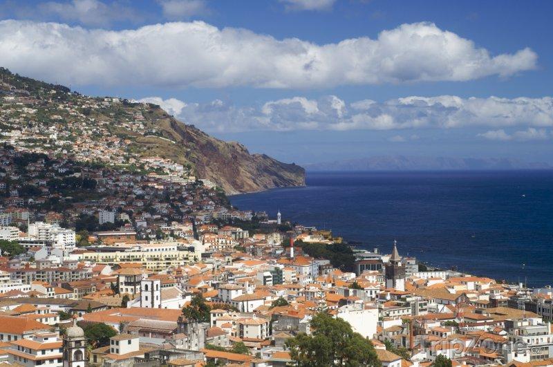 Fotka, Foto Funchal, pohled na město (Madeira, Portugalsko)
