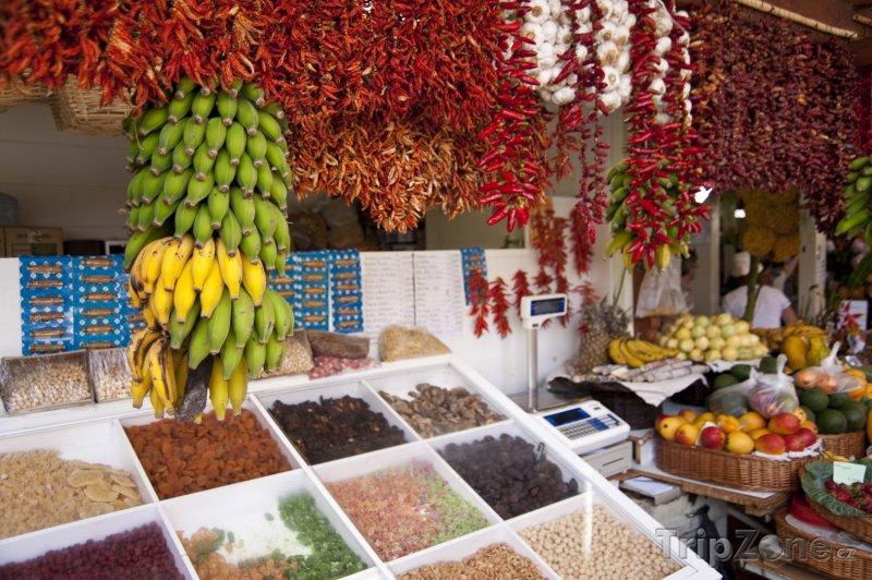 Fotka, Foto Funchal, trh (Madeira, Portugalsko)