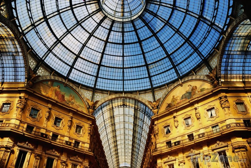 Fotka, Foto Galleria Vittorio Emanuele II (Milán, Itálie)