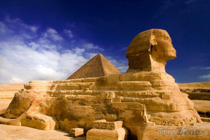 Fotka, Foto Gíza, sfinga (Egypt)