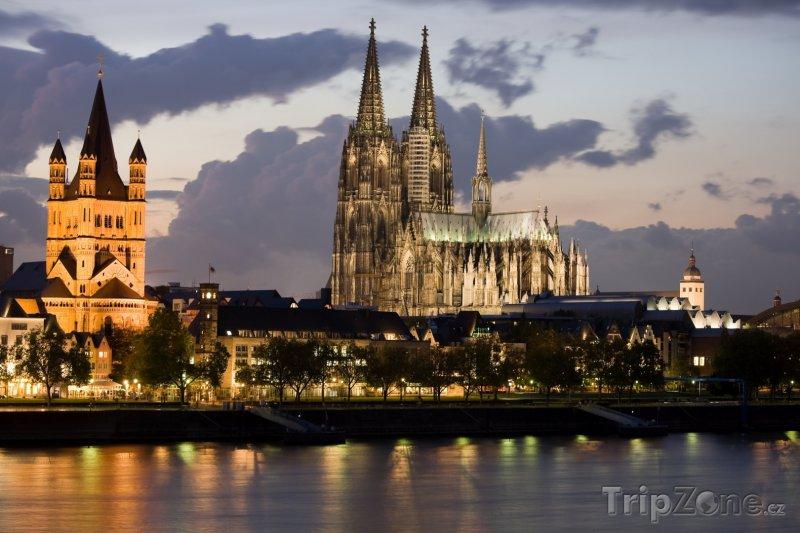 Fotka, Foto Gotická katedrála v Kolíně nad Rýnem (Německo)