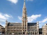 Grand Place, květinový koberec před radnicí