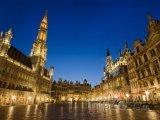 Grand Place v noci